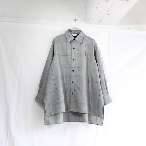 jieDa CHECK OVER SHIRT GRN size.1