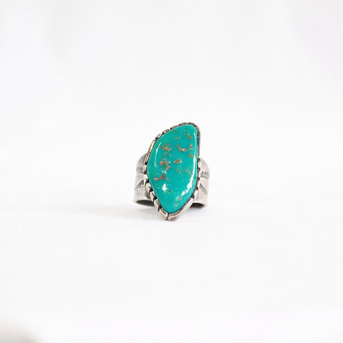 turquoise & silver ring #1
