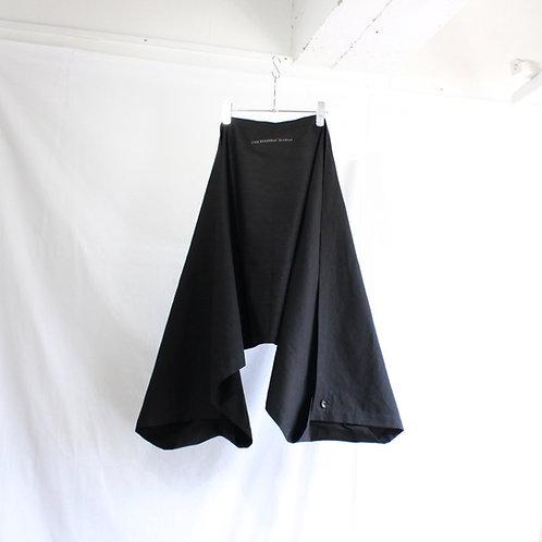 my beautiful lanlet cotton linen sleeve stole black