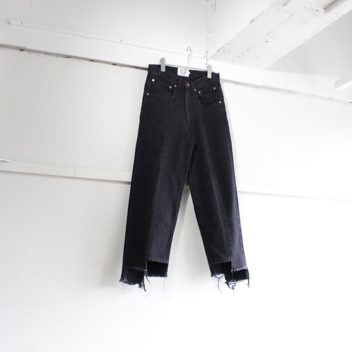 RICE NINE TEN apart length jeans black size.1