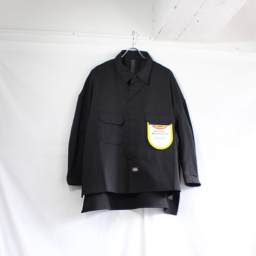 SHINYA KOZUKA work shirt-ish jacket with Dickies black