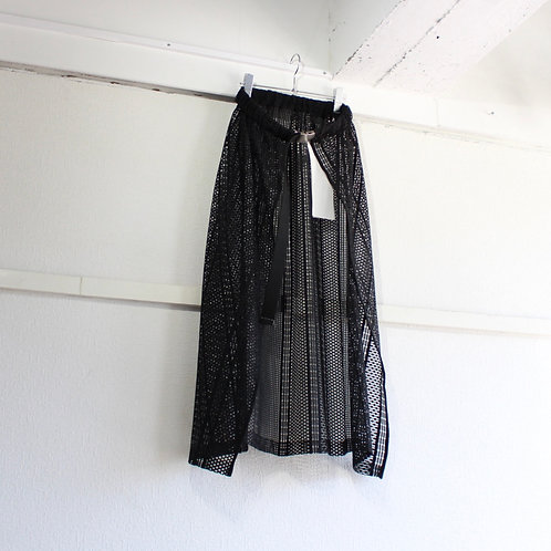 you ozeki lace skirt black