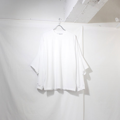 foof double long tee white