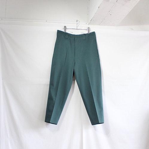 SHINYA KOZUKA work trousers with Dickies jade