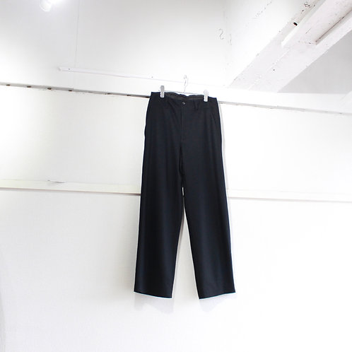 THEE wool jersey Hi waist slacks black