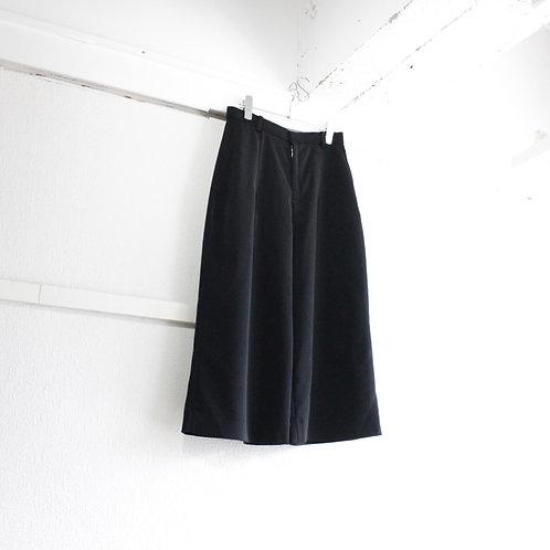 you ozeki mid wide pants black