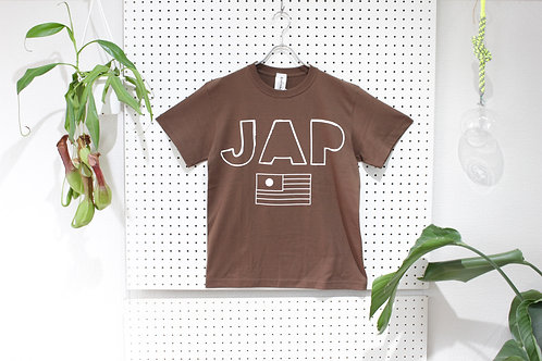 omiyage by pourton de moi JAP Tee brown size.S
