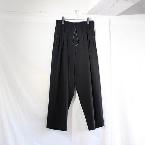 VOAAOV NATURAL WATER REPELLENT EASY PANTS black