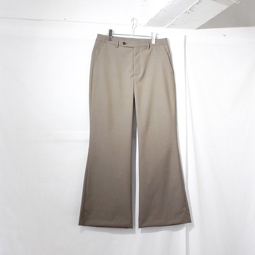 VOAAOV WASHABLE WOOL FREA PANTS beige