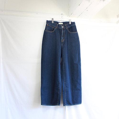 JieDa  used wide denim pants size.2