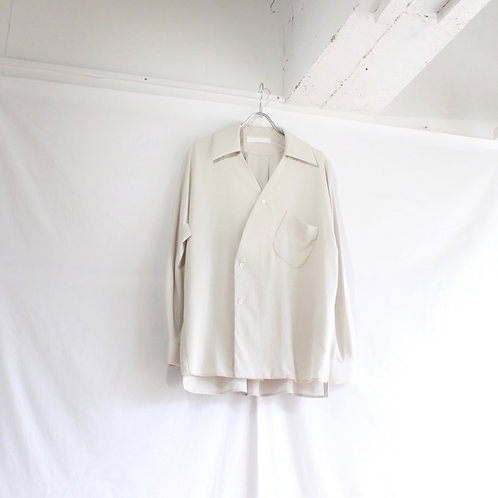 ETHOSENS Venetian skipper shirt grey size.2