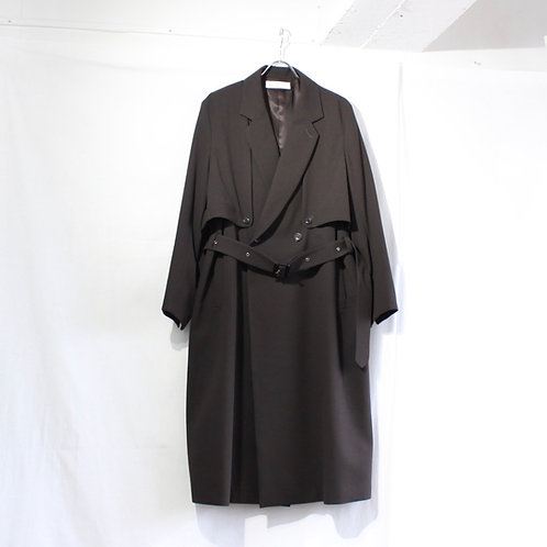 ETHOSENS Splitted trench coat
