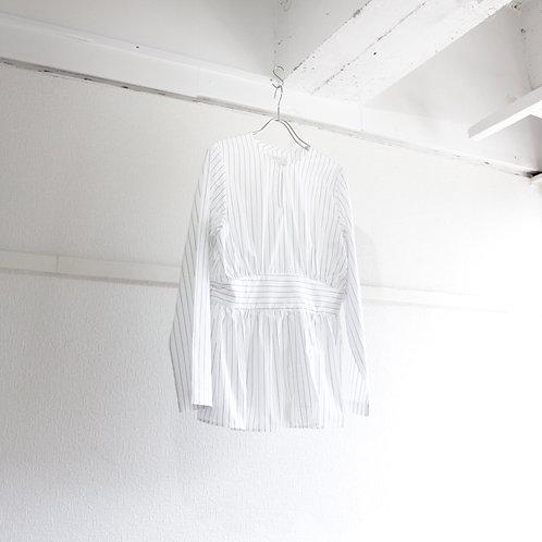 supp. cotton stripe blouse