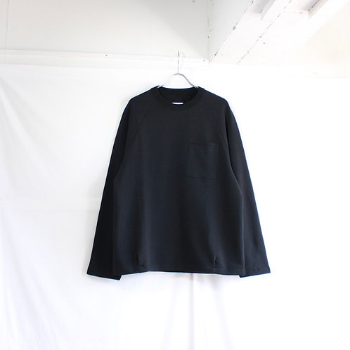I___ sweat long sleeve T shirt black