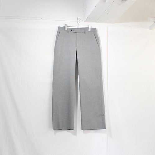 VOAAOV cottonpoly pants check