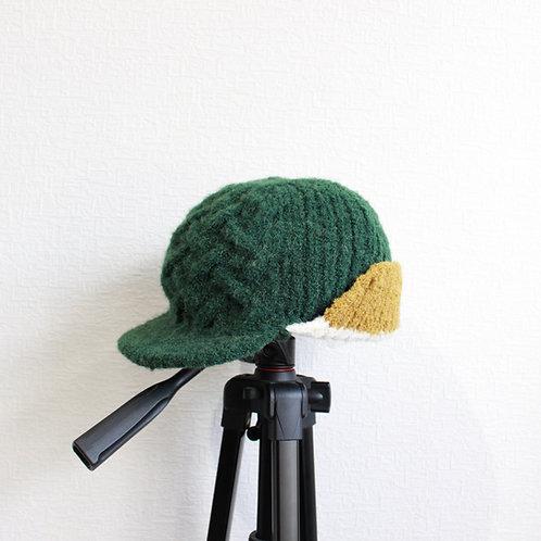 ohta green knit cap
