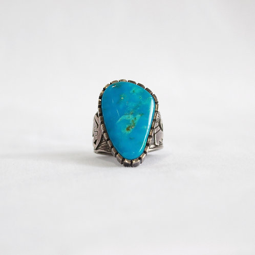 turquoise & silver ring #4