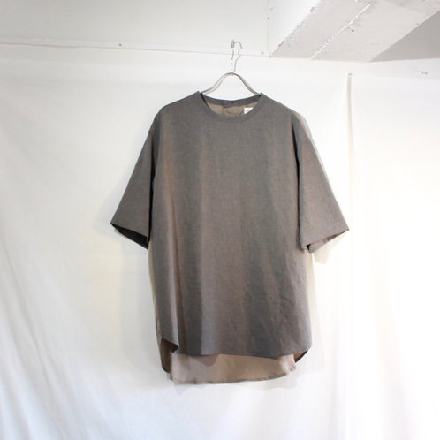 VOAAOV NATURAL WATER REPELLENT TEE gray