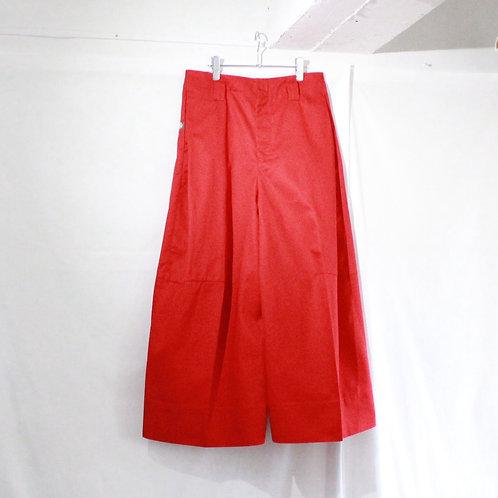 SHINYA KOZUKA PANTALON with Dickies red