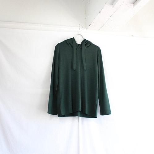 ohta green wool parka size.W2