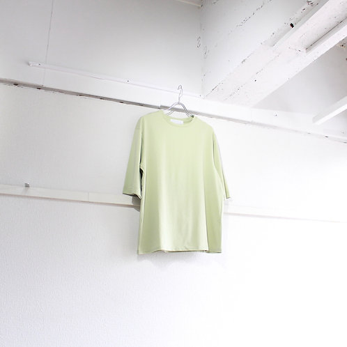 house of the very island's DROP SHOULDER T-SHIRT lime