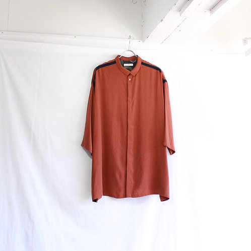 ohta wide shirt M1 brown