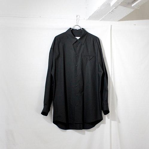 VOAAOV typewriter L/S big shirt black size.2