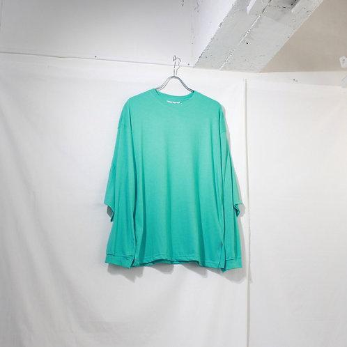 foof double long tee turquoise