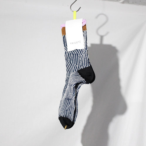 TRICOTE CUT STRIPE SOCKS