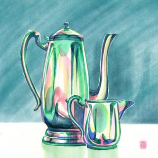 Afternoon tea drawing