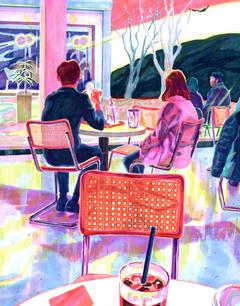 At Cafe(Bird)
