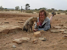 Abi Croker, volunteer for the Conservation Project International