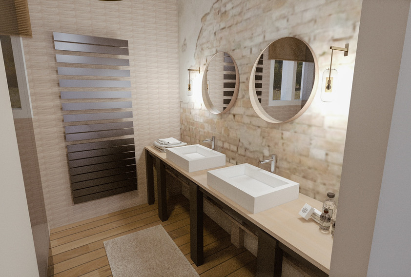 Salle de bain 5m²