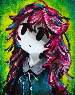 ちぢれ / Curly hair