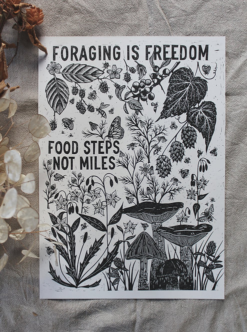 foraging is freedom