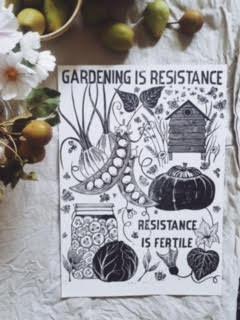 gardening is resistance
