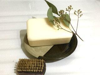 New Zealand glaze soap dish.