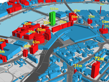 Bluesky Launches Nationwide Map of Building Heights
