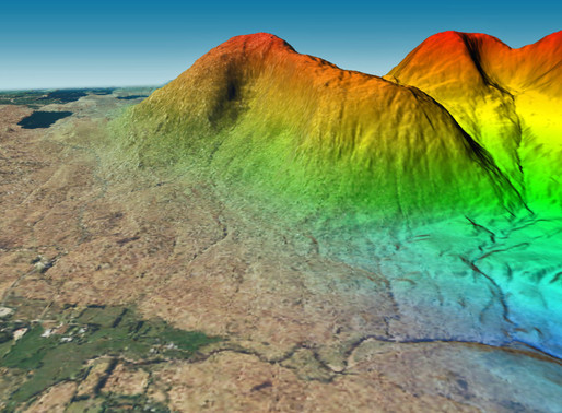 Bluesky 3D Photomaps Help Elevate an Irish Hill for the First Time in 20 Years