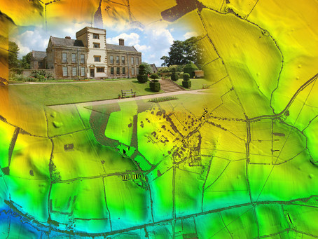 Bluesky Laser Maps Help ArcHeritage Reveal Hidden Treasures for the National Trust