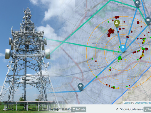 Bluesky 3D Models Improve Mobile, 5G and Smart City Network Planning