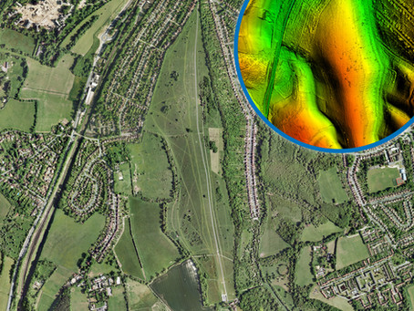 Bluesky LiDAR Reveals Archaeological Legacy of London Landscape