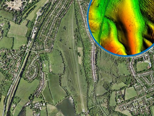 Bluesky LiDAR Reveals Archaeological Legacy of London Landscape