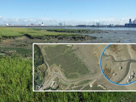 Bluesky Aerial Photomaps Help Monitor Coastal Erosion