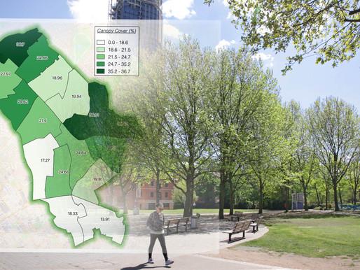 Bluesky National Tree Map Reveals Islington's Tree Cover