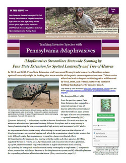 Pennsylvania iMapInvasives newsletter (Issue 14, Winter 2019/2020)
