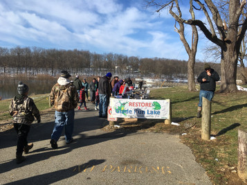 Many area residents and students have contributed to the GRLC by conducting personal and school-based fundraisers to help restore the lake after it had been drained in 2011.