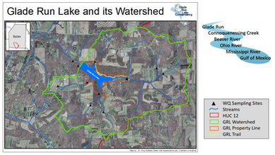 Glade Run Lake and Watershed