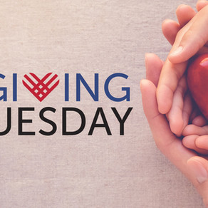 Giving Tuesday is May 5, 2020