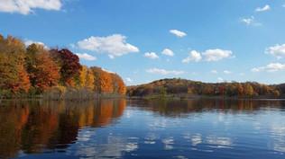 Fall View of Lake